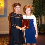 Image of Inductee Jeri Dunn and Mary Kay Borkowski